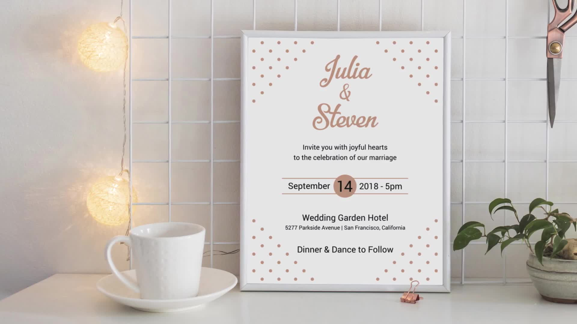 Wedding Invitation Template - Download Videohive 4