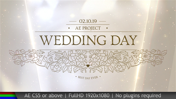 Wedding Pack - Download Videohive 20100276