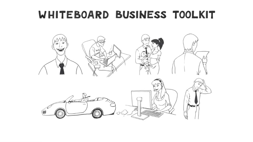 Whiteboard Business Toolkit Vol 1 - Download Videohive 6548695