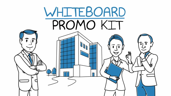 Whiteboard Promo Kit - Download Videohive 19307659