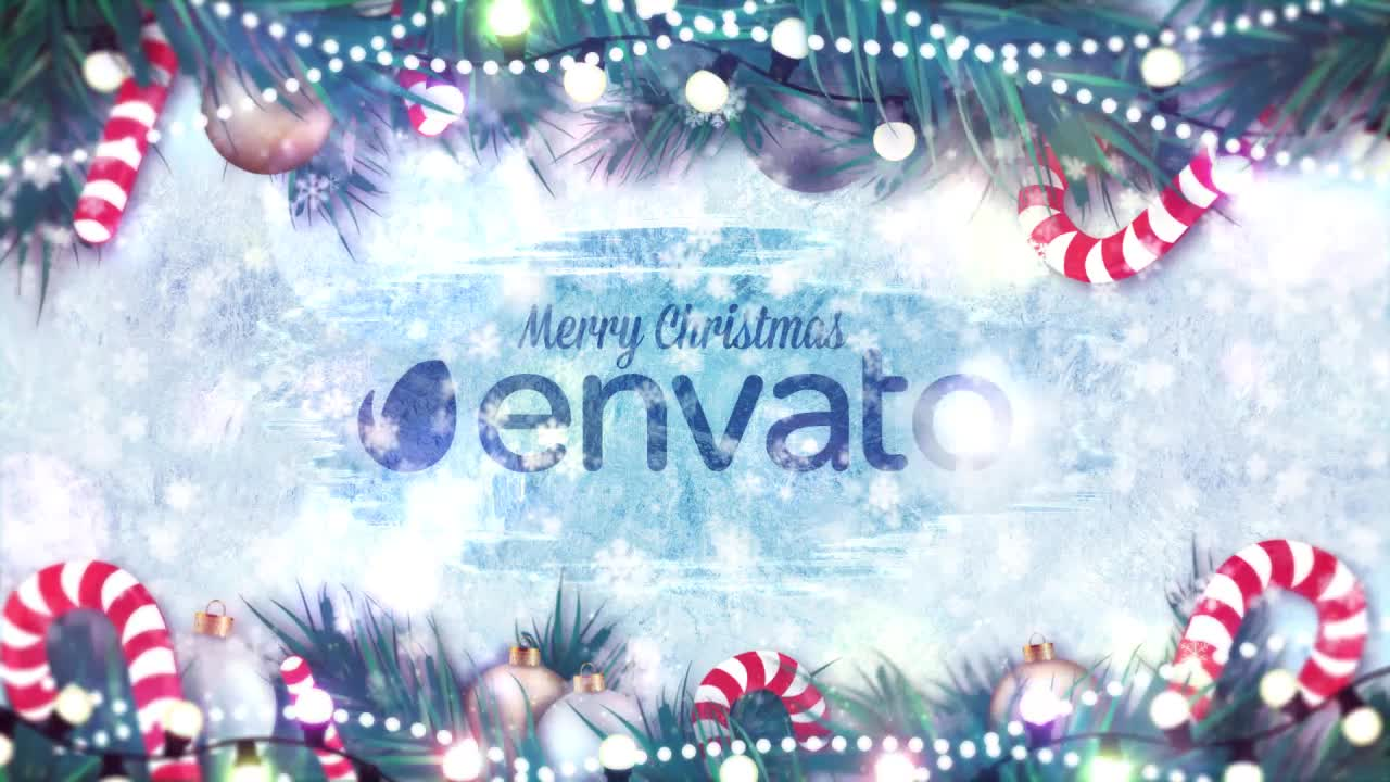 Winter Holidays Logo Reveal - Download Videohive 14013586