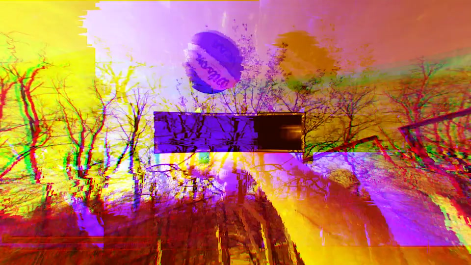 Wonderland (Glitch Art Slideshow) - Download Videohive 15929551
