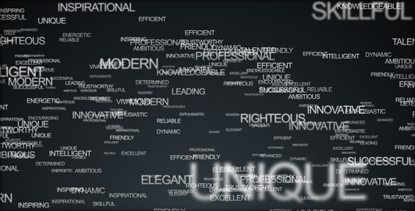 Words Logo Animation - Download Videohive 81667