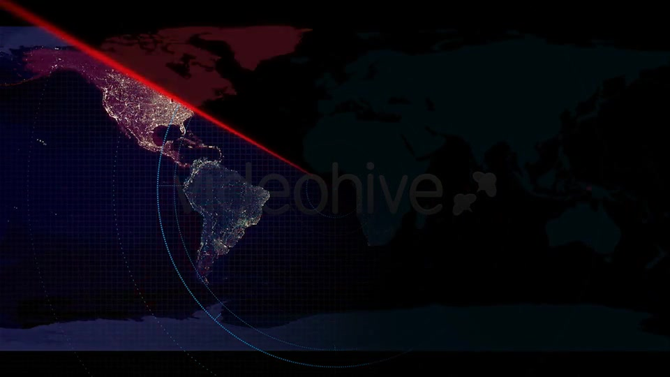 World Map Radar - Download Videohive 6434555