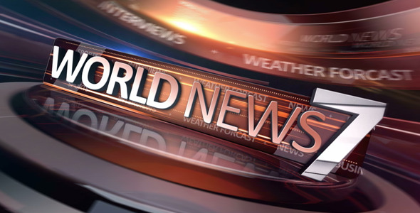 World News Broadcast Package - Download Videohive 6232667