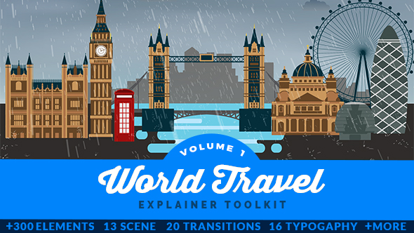 World Travel Explainer Toolkit - Download Videohive 20435946