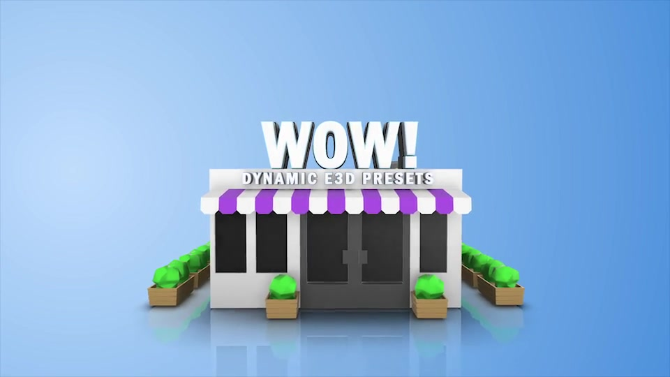 Wow! Dynamic Element 3D Presets - Download Videohive 19997366