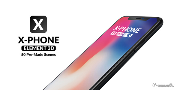 X Phone Promo For Element 3D - Download Videohive 21513856