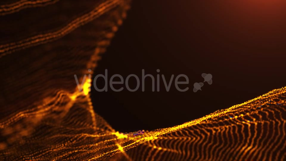Yellow Particles Background - Download Videohive 19922476