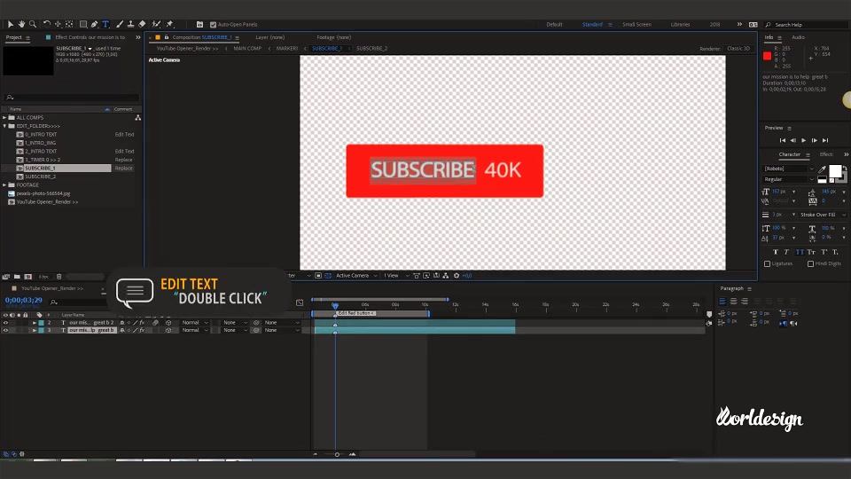 Youtube Channel Intro Videohive 22509381 After Effects Image 9