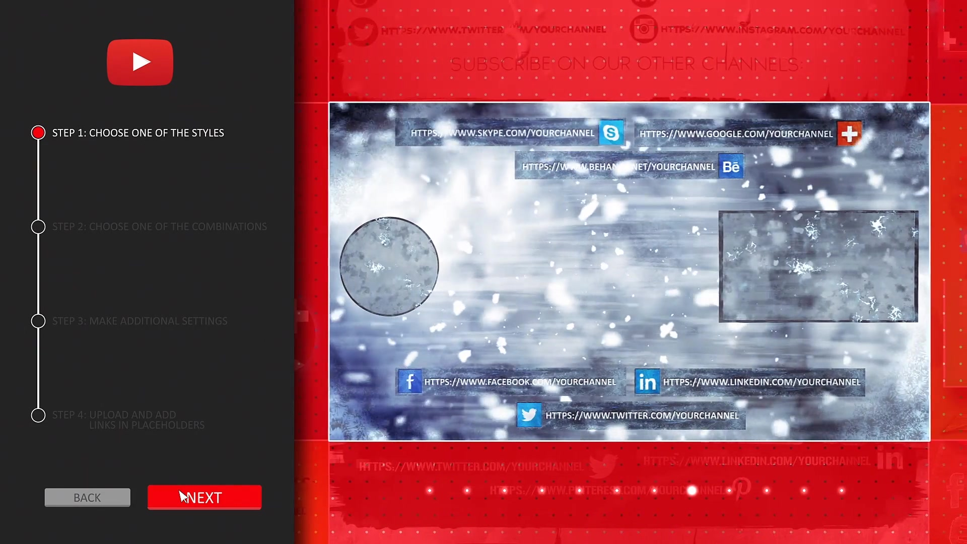 YouTube End Screens Builder - Download Videohive 21560750