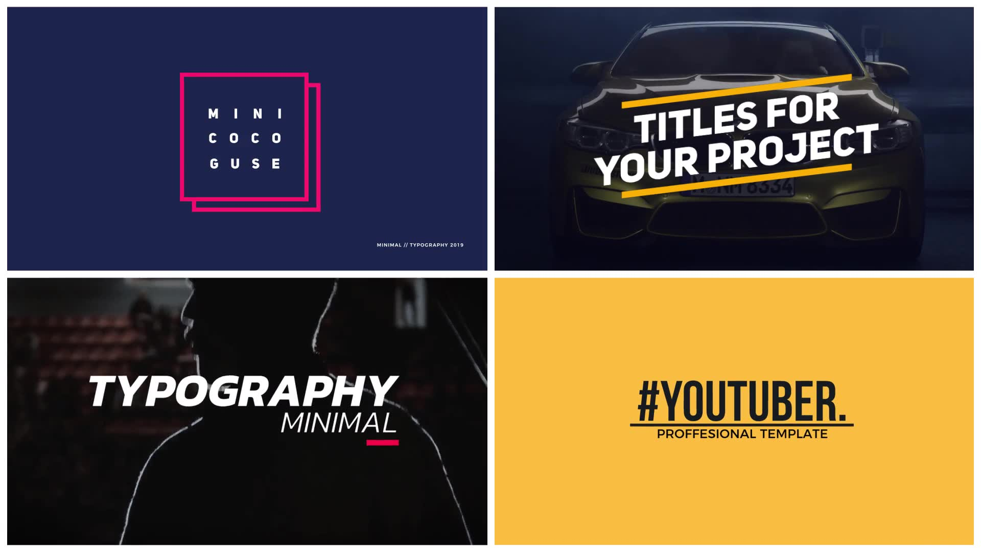 YouTube Titles Collection for Final Cut Pro X - Download