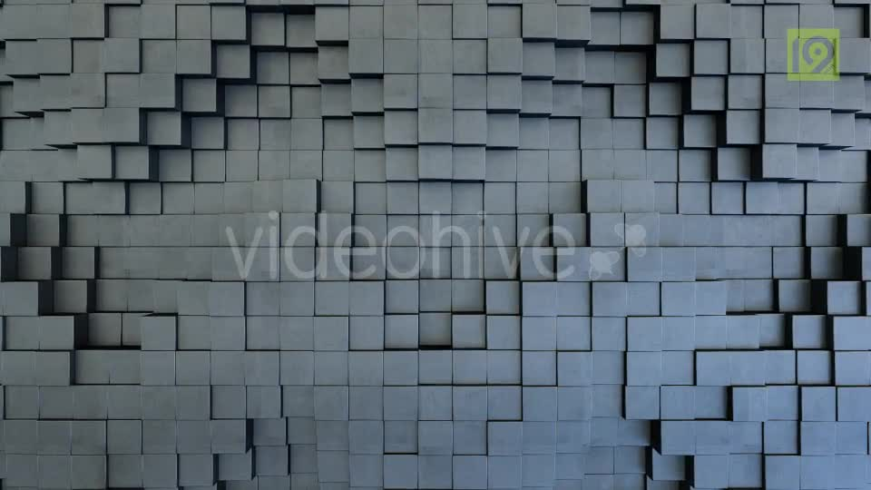 3d Cube Blocks Backgrounds 5 Videohive 19751519 Motion Graphics Image 1