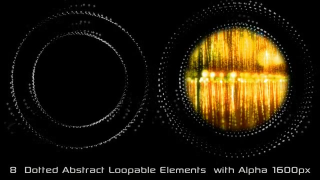Abstract Dotted Elements 01 Videohive 6649736 Motion Graphics Image 10