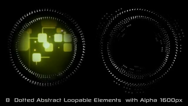Abstract Dotted Elements 01 Videohive 6649736 Motion Graphics Image 2