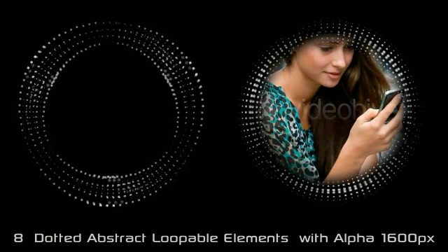 Abstract Dotted Elements 01 Videohive 6649736 Motion Graphics Image 4