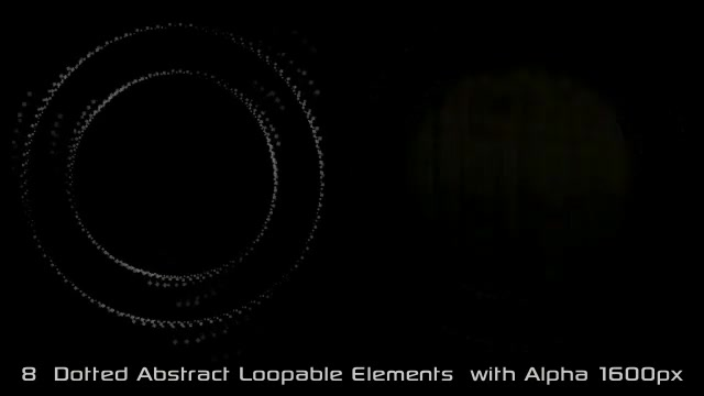 Abstract Dotted Elements 01 Videohive 6649736 Motion Graphics Image 8