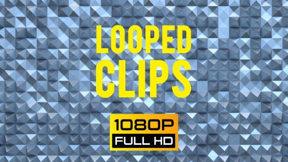 Animated Pyramids Background Looped 12 - Videohive 19758924 Download