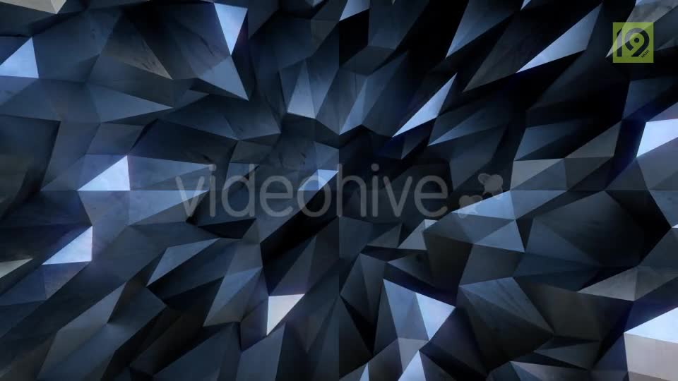 Animated Triangle Background Looped 1 Videohive 19747833 Motion Graphics Image 1