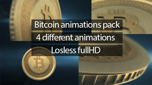 Bitcoin Animations Pack - Videohive Download 6506726