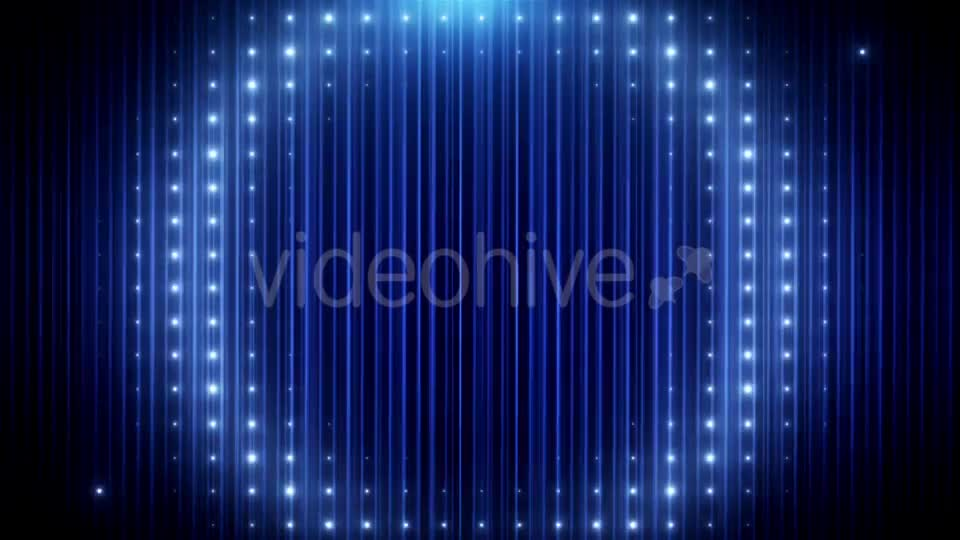 Blue Glitter Led Loop Animated VJ Background Videohive 19697736 Motion Graphics Image 1