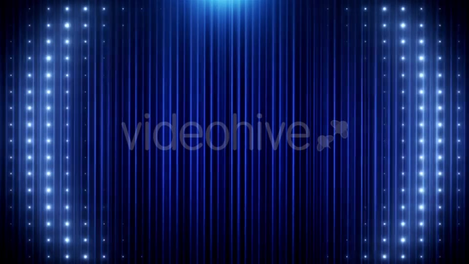 Blue Glitter Led Loop Animated VJ Background Videohive 19697736 Motion Graphics Image 11