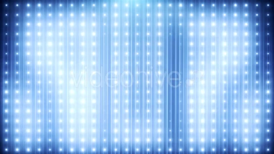 Blue Glitter Led Loop Animated VJ Background Videohive 19697736 Motion Graphics Image 3