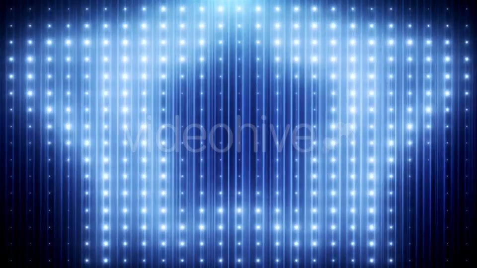 Blue Glitter Led Loop Animated VJ Background Videohive 19697736 Motion Graphics Image 4