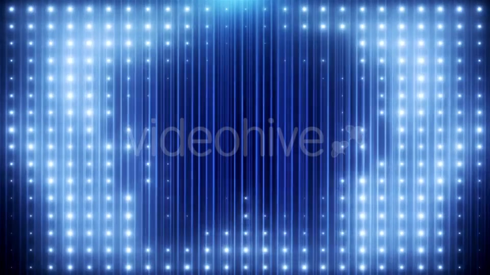 Blue Glitter Led Loop Animated VJ Background Videohive 19697736 Motion Graphics Image 6
