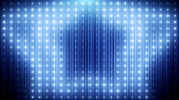 Blue Glitter Led Loop Animated VJ Background - Download 19697736 Videohive
