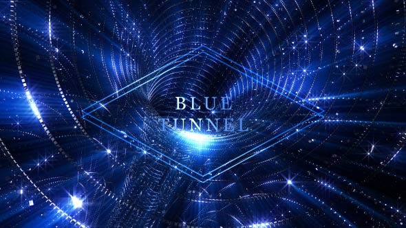 Blue Tunnel - 19720099 Videohive Download
