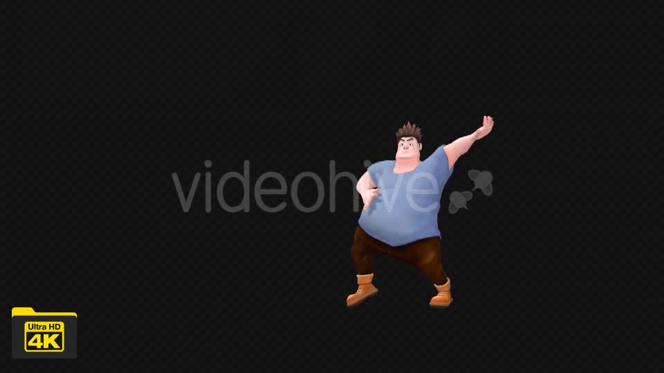 Cartoon Dancer Videohive 19738670 Motion Graphics Image 4
