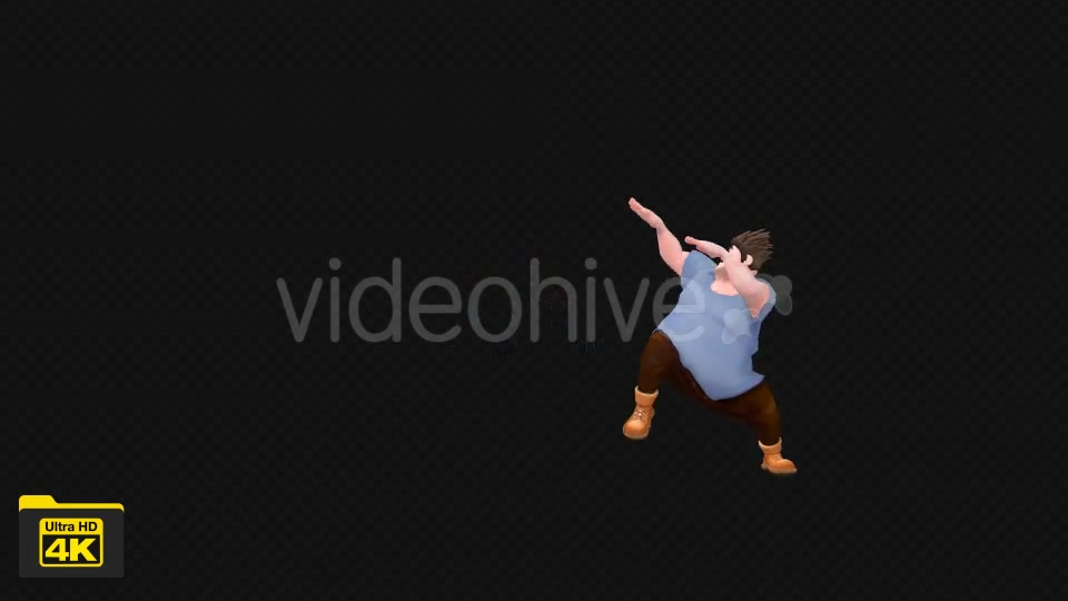 Cartoon Dancer Videohive 19738670 Motion Graphics Image 9