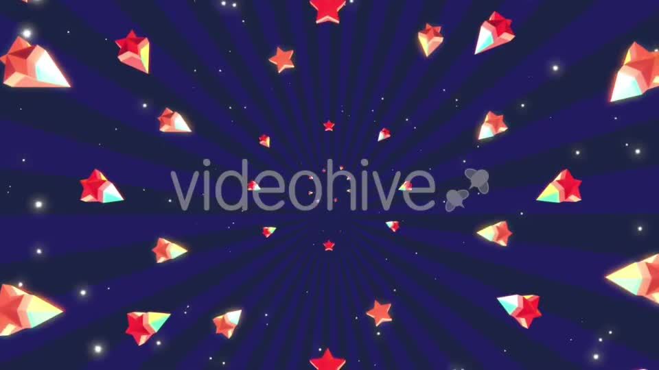 Cartoon Stars Background Videohive 19700150 Motion Graphics Image 1