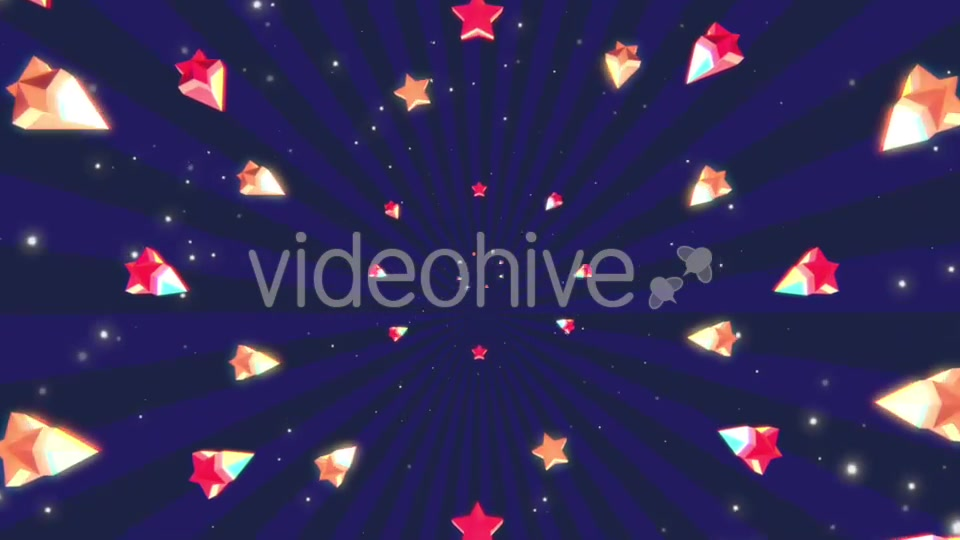 Cartoon Stars Background Videohive 19700150 Motion Graphics Image 5
