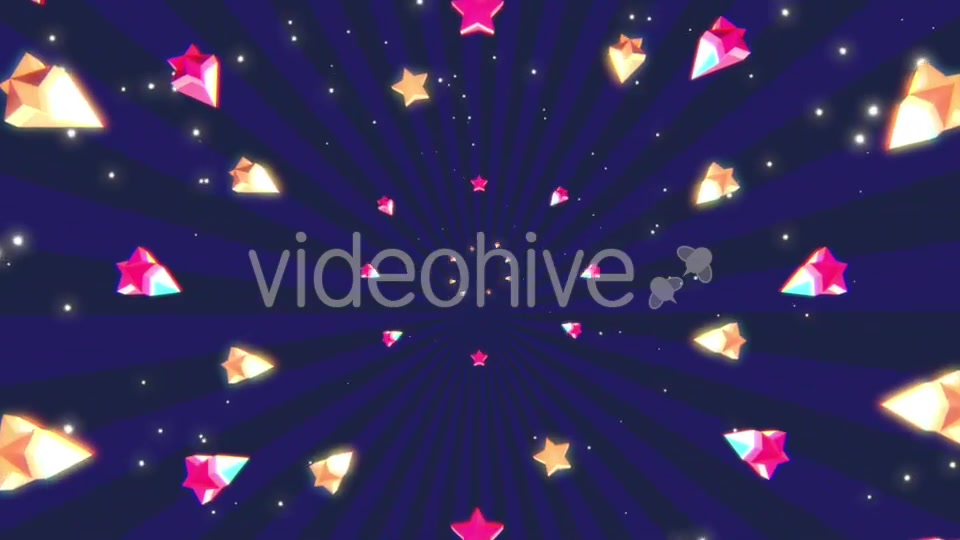 Cartoon Stars Background Videohive 19700150 Motion Graphics Image 7