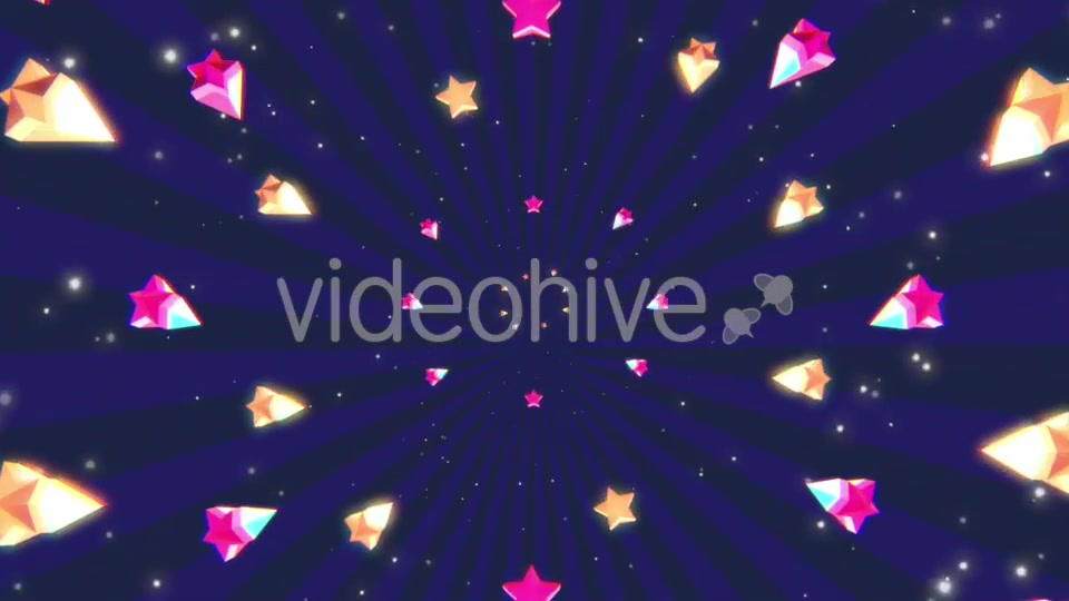 Cartoon Stars Background Videohive 19700150 Motion Graphics Image 8