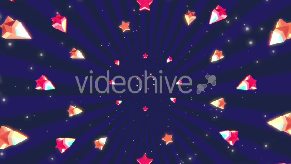 Cartoon Stars Background Videohive 19700150 Motion Graphics Image 9