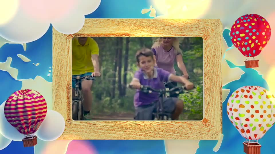 Cartoon Travel Frame Videohive 19749625 Motion Graphics Image 9