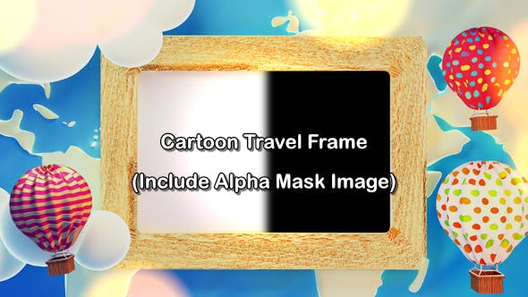 Cartoon Travel Frame - 19749625 Download Videohive
