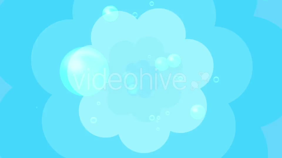 Cartoon Water Bubbles Background Videohive 19829865 Motion Graphics Image 10