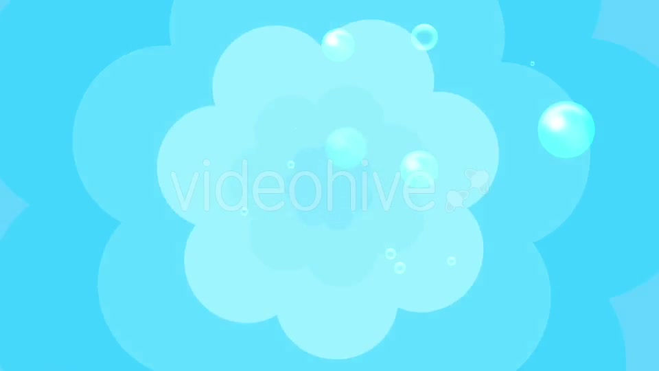 Cartoon Water Bubbles Background Videohive 19829865 Motion Graphics Image 2