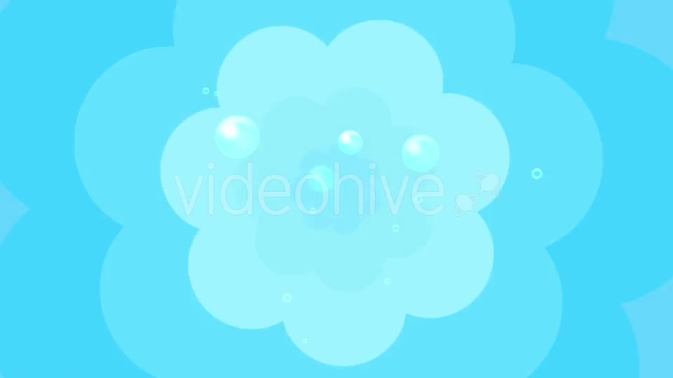 Cartoon Water Bubbles Background Videohive 19829865 Motion Graphics Image 3