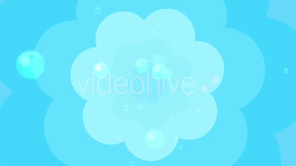Cartoon Water Bubbles Background Videohive 19829865 Motion Graphics Image 4
