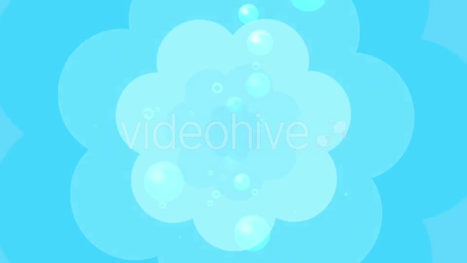 Cartoon Water Bubbles Background Videohive 19829865 Motion Graphics Image 5