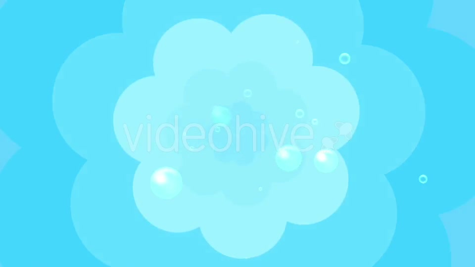 Cartoon Water Bubbles Background Videohive 19829865 Motion Graphics Image 6