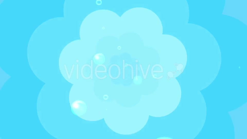 Cartoon Water Bubbles Background Videohive 19829865 Motion Graphics Image 7