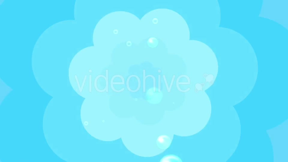 Cartoon Water Bubbles Background Videohive 19829865 Motion Graphics Image 8