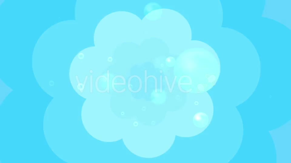 Cartoon Water Bubbles Background Videohive 19829865 Motion Graphics Image 9
