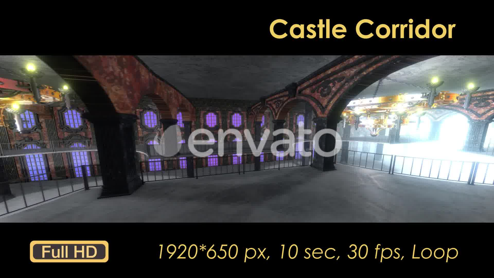 Castle Interior Loop Videohive 22120523 Motion Graphics Image 10